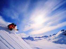 迎着雪花去滑雪吉林多地雪场开门迎客