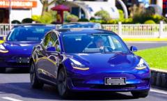 特斯拉官方公布中国制造Model 3上路照