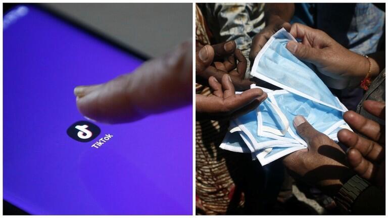 印度政客再出损招:民众删除手机里的中国App,可免费领口罩!