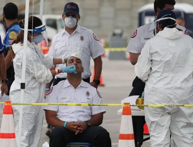 """欧博亚洲官网开户网址:特朗普竞选集会上对没""""戴口""""罩的人说:希望放慢美国对新冠病毒的检测 第3张"""