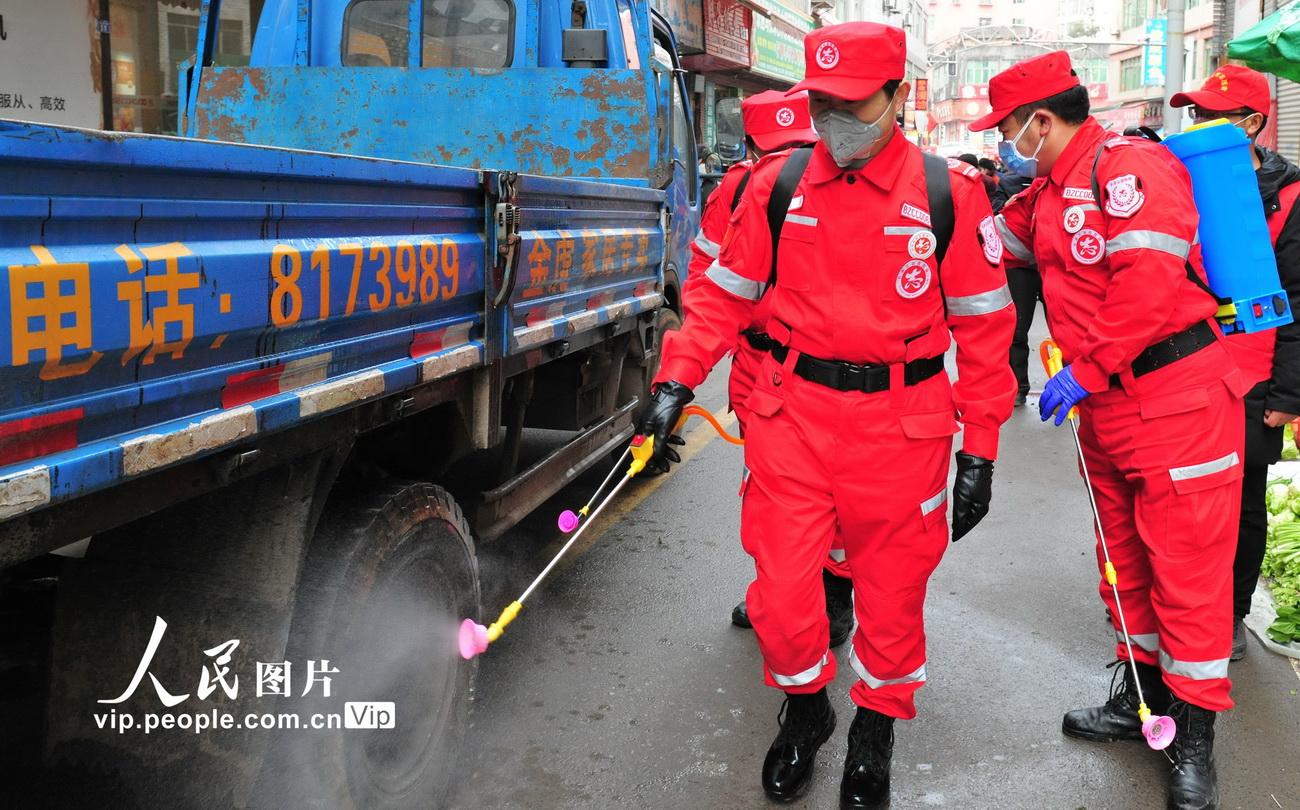 四川南江:两千多志愿者全力投入肺炎疫情防控