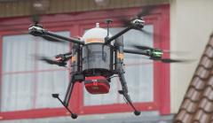 德国小镇进行医用无人机测试空中运送除颤器挽救心脏病人