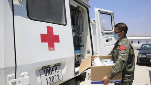 中国赴黎巴嫩医疗队为贝鲁特提供医疗救助