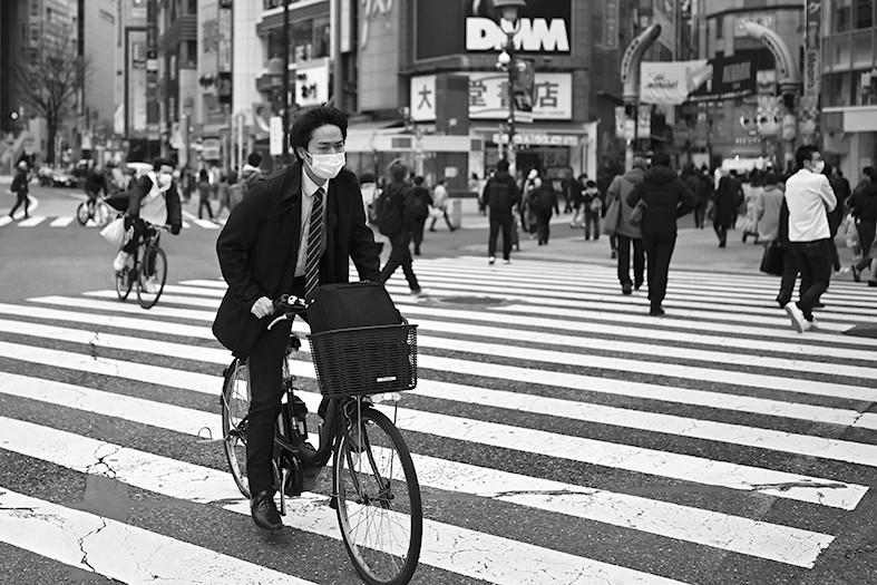骑车通勤,日本自行车紧俏