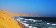 纳米比亚印象:一半海水,一半沙漠