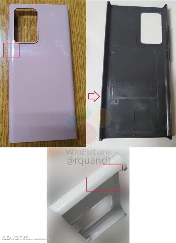 三星Galaxy Note 20模具曝光:矩阵相机实锤