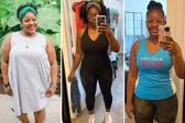 喜欢跑步时听歌的她 11个月瘦了90多斤