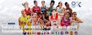 FIBA发布东京奥运会女篮12强海报:李梦C位亮相