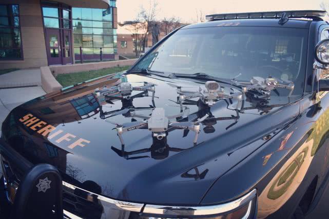 美国多地用大疆无人机抗疫新州警方:救一条命就值
