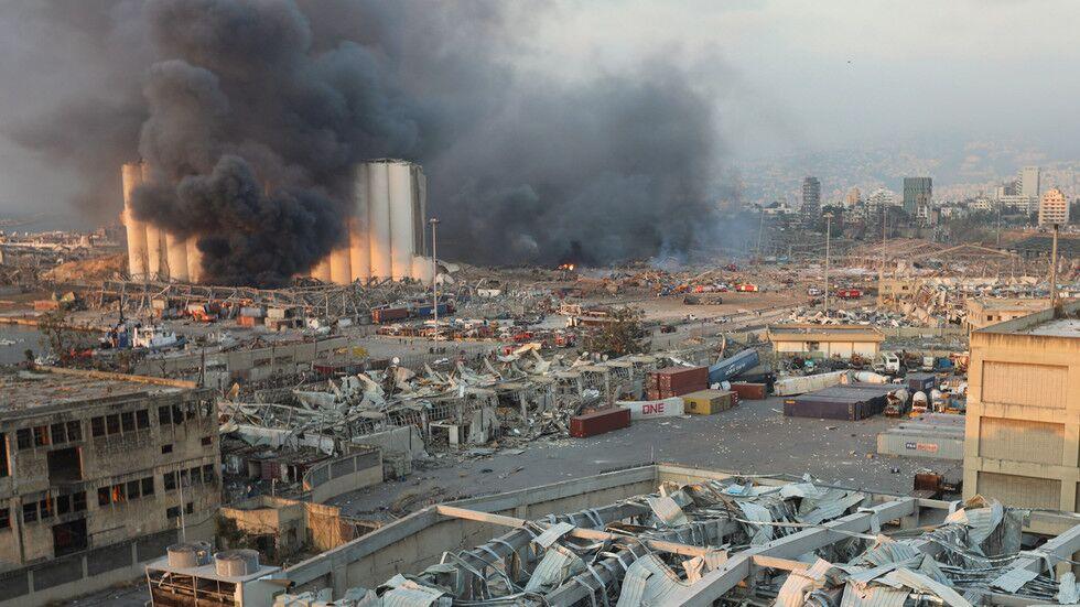 黎巴嫩大爆炸震惊全球