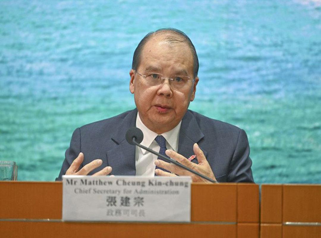 外籍法官不可审涉国安法案件?香港政务司司长张建宗回应