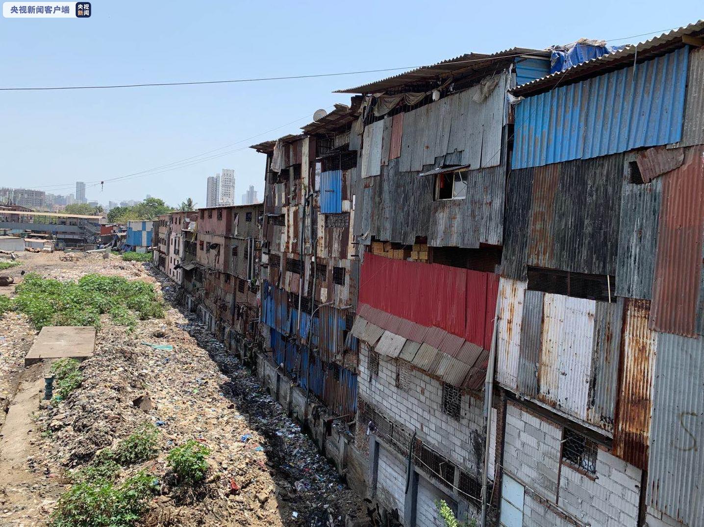 印度最大贫民窟新增25例确诊 累计确诊214例