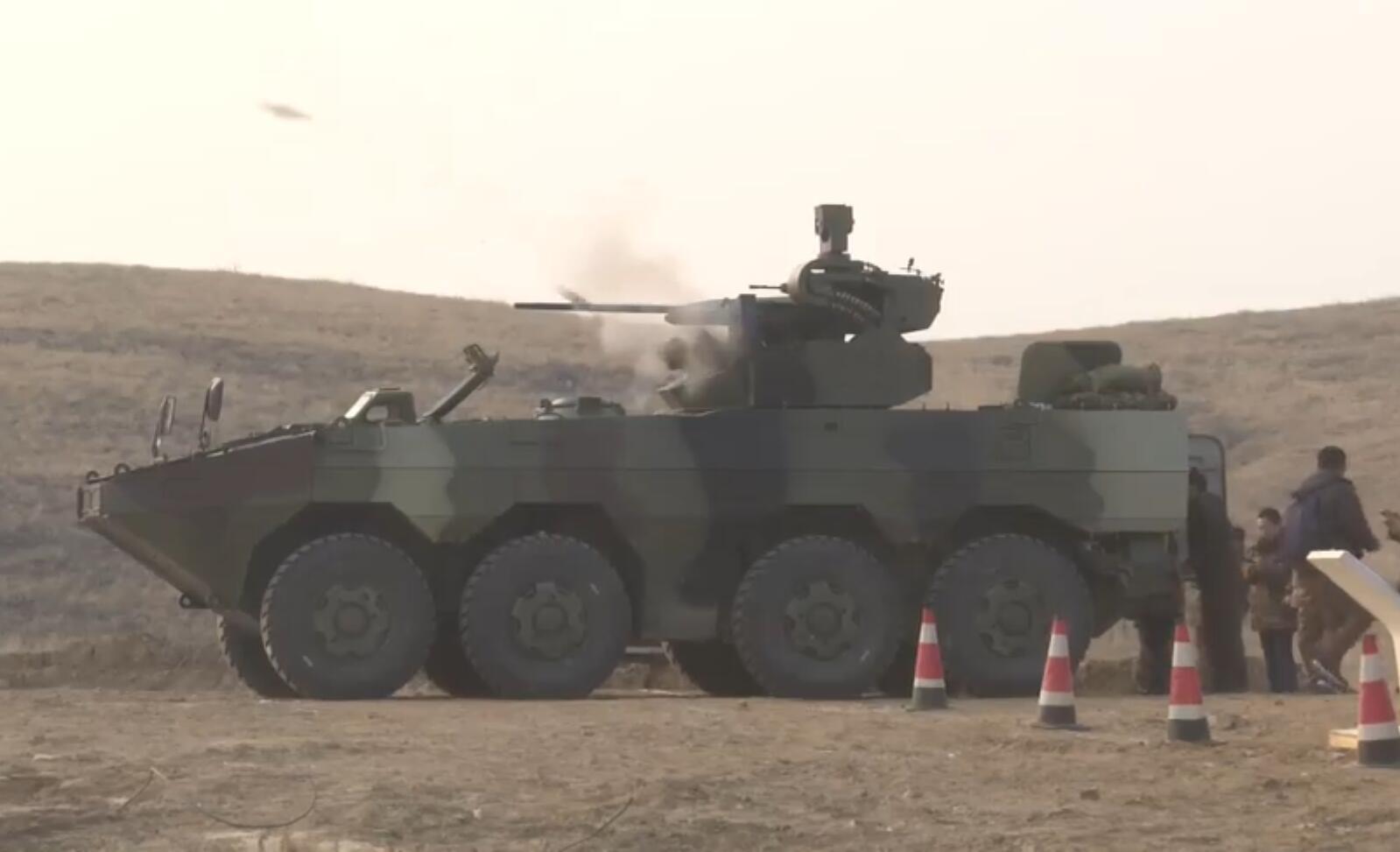 泰国陆军测试中国VN1装甲车首批38辆即将交付
