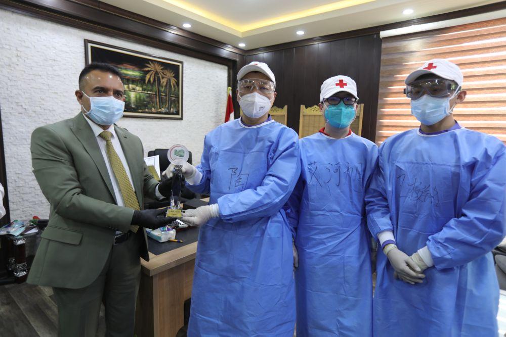 欧博allbet网址:高温与疫情下,中国援建实验室在伊拉克的坚守