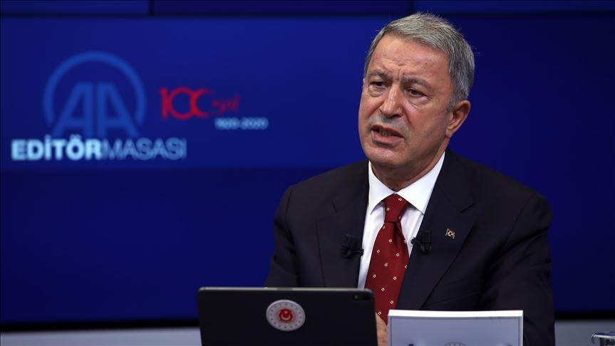 土耳其国防部长:土耳其有决心有能力捍卫自身权益