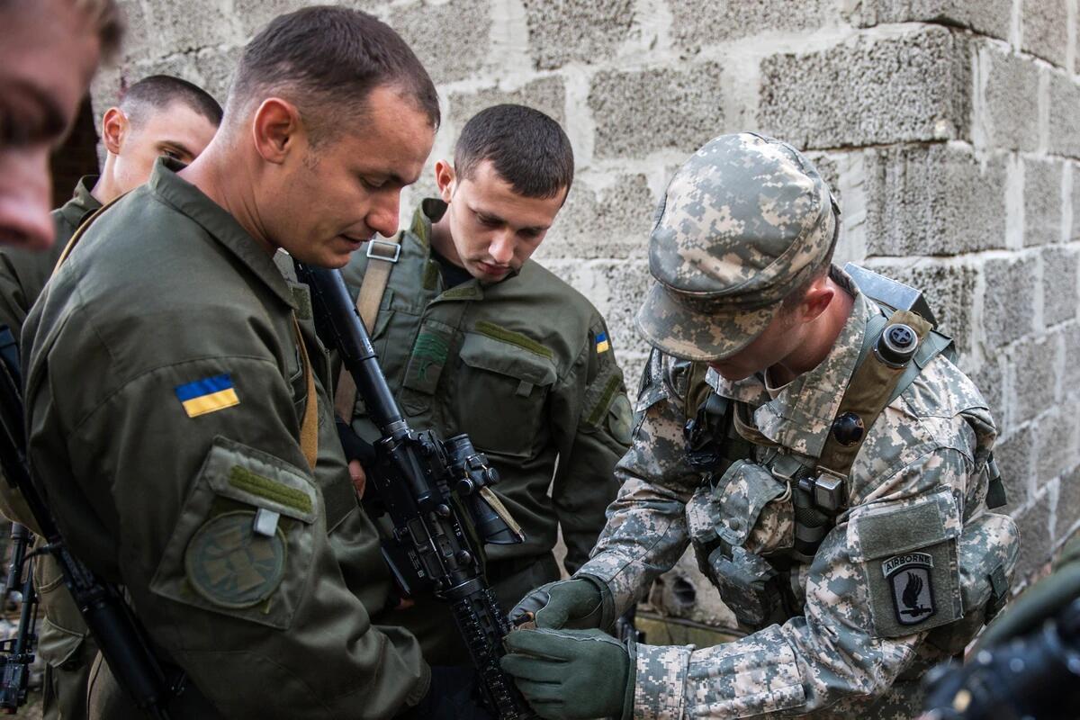 乌克兰举行4000兵力大型联合军演 美军参演人员缩减过半