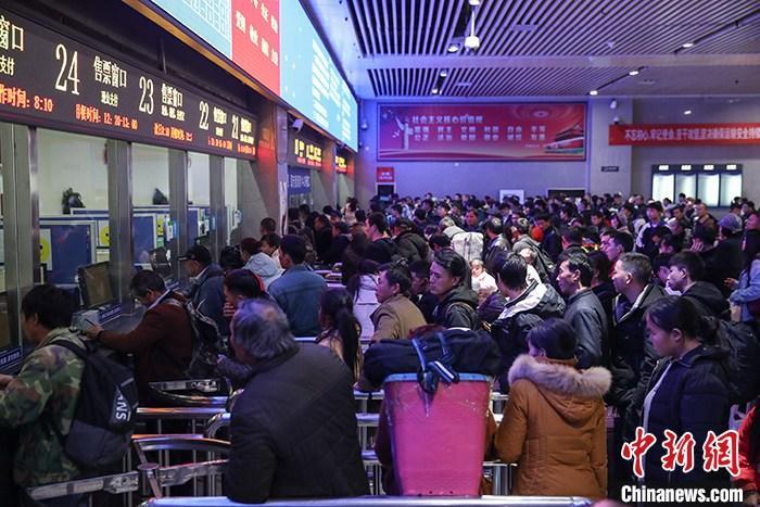 春运首周中国交通累计发送旅客4.37亿人次