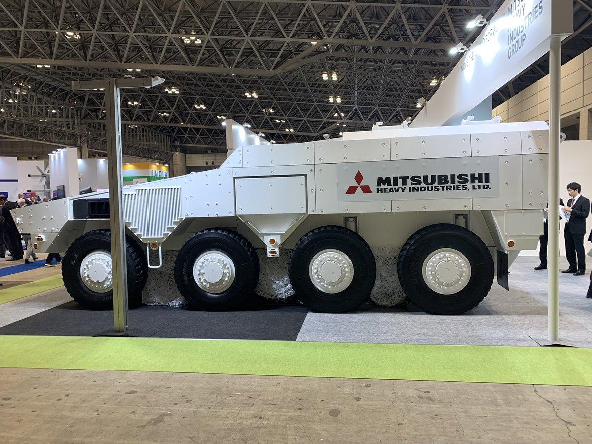 日本自研新一代装甲车亮相将和国外产品竞标
