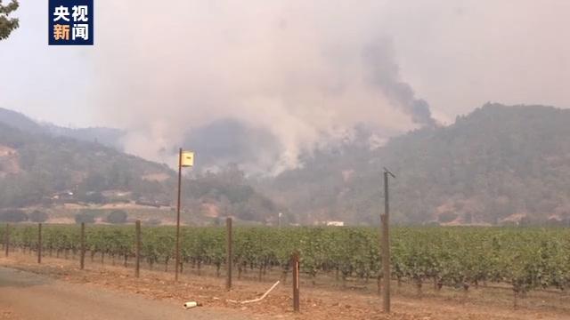美国加州山火连续燃烧伸张迅速 酿酒业受打击 第3张