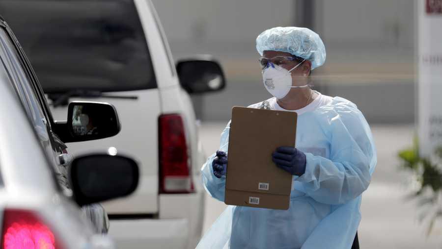 美国佛罗里达州累计超过3万人因新冠肺炎住院