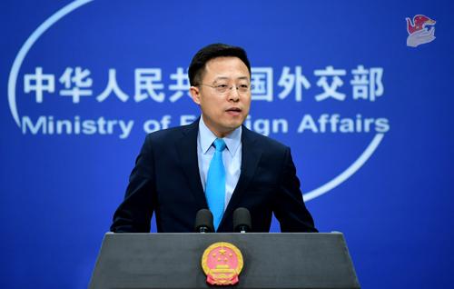 ug环球电脑版下载:特朗普称香港金融中心职位将在中国大陆管控下恶化,赵立坚:这绝不是哪个国家的恩赐,更不是谁能予取予夺的