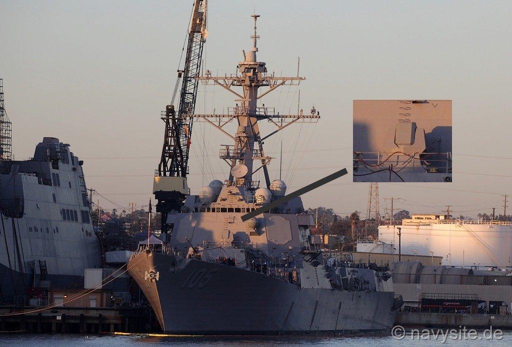 """美军驱逐舰装备激光致盲武器能将对手""""照瞎"""""""