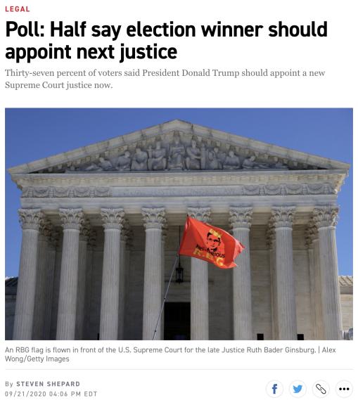 美国大选进入决胜期_大法官听证会引发争议