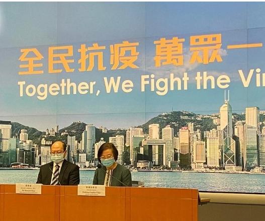 香港食卫局:室内公共场所及交通转乘处须强制戴口罩