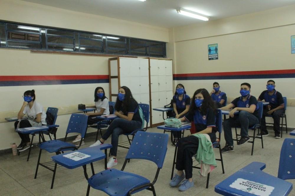 太平洋在线:巴西亚马孙州首府约11万名学生返校复课