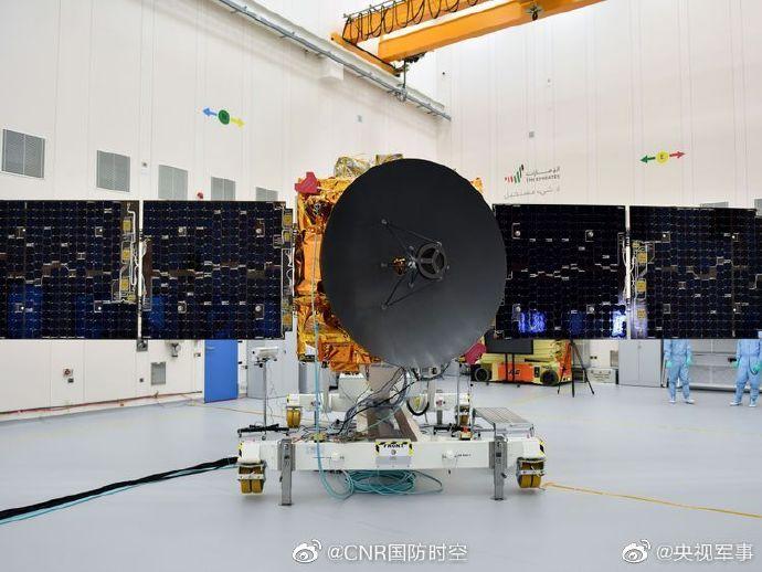 欧博亚洲app下载:阿联酋火星探测器将于15日发射