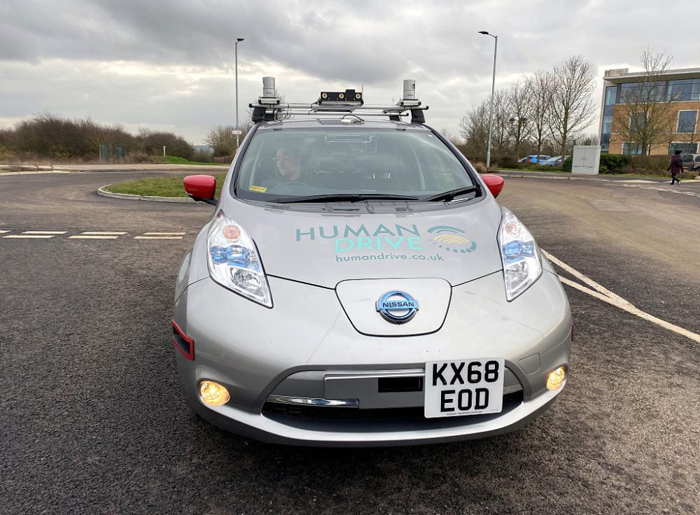 日产Leaf无人驾驶汽车完成230英里测试行驶