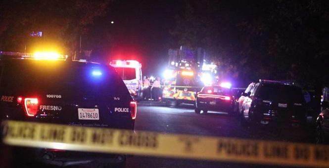 加州一家庭聚会发生枪击事件 10人中枪多人死亡