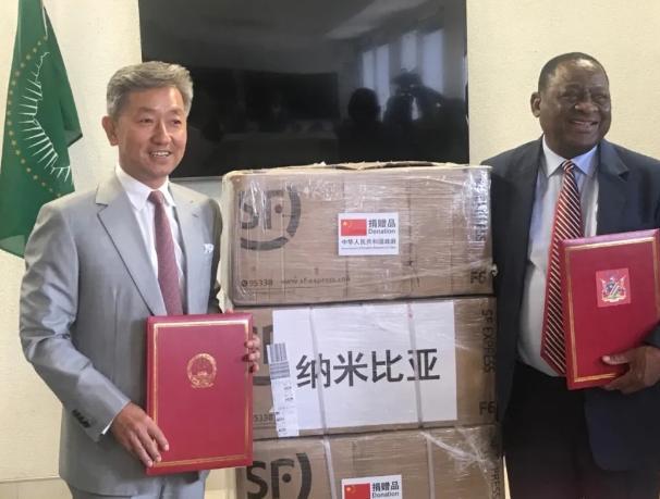 欧博网址多少:纳米比亚卫生部长:中国为世界各国树立了卓越的抗疫楷模 第1张