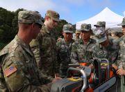 2019年中美两军人道主义救援减灾联合演练举行