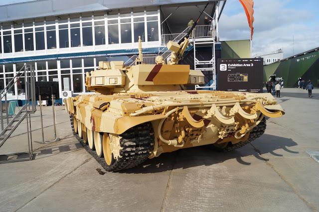俄罗斯自研坦克主动防御系统接受测试