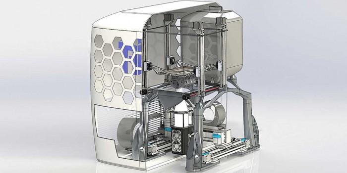 新型3D金属打印机使用LED光源进行工作