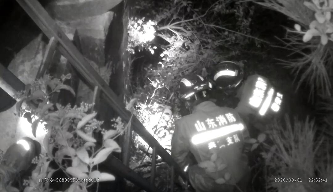 醉酒男子不慎跌落桥下对话消防员:你是假的