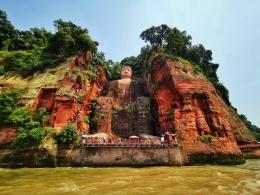 世界文化遗产:乐山大佛,世界最高的石刻佛像