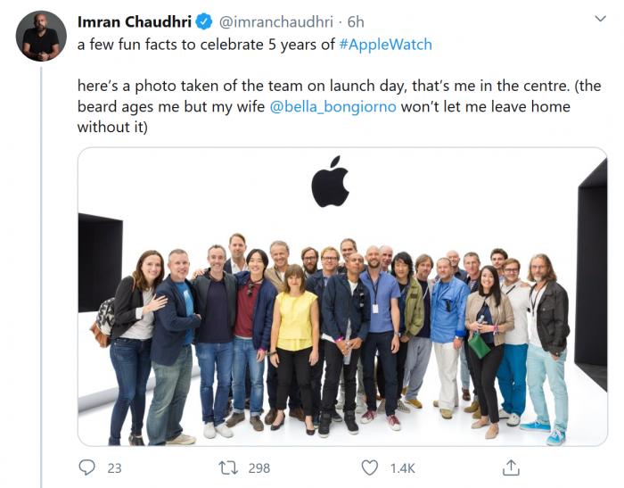Apple Watch诞生五周年 设计师分享开发背后的逸闻趣事插图1