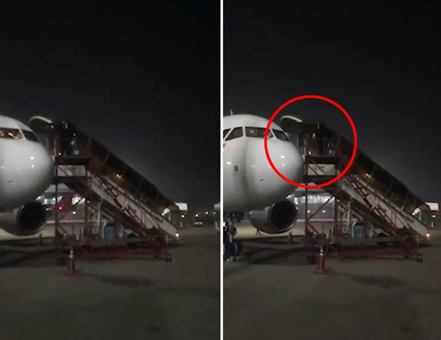 飞行员听说机上有新冠肺炎感染者匆忙从驾驶舱翻窗而出