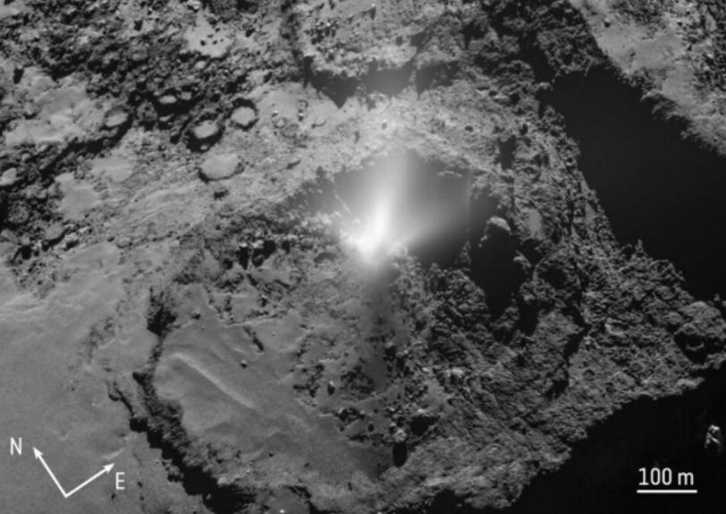 """外媒:哈勃望远镜拍摄到""""外星访客""""彗星2I/Borisov发生了解体"""