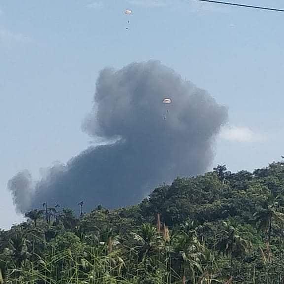 又坠机!印度海军米格29KUB战机坠毁