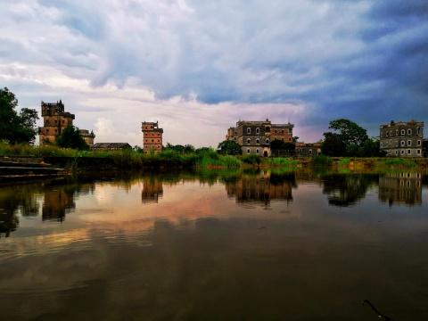 世界文化遗产:开平碉楼与村落,中西合璧的华侨乡