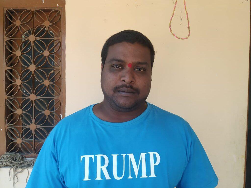 """印度""""特朗普死忠粉""""去世,印媒:他死前数天不吃不睡,为特朗普祈祷 第2张"""