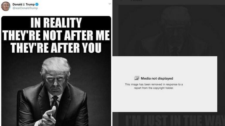 欧博客户端下载:推特再出手!特朗普发图被删,因用《纽约时报》图片被投诉 第2张