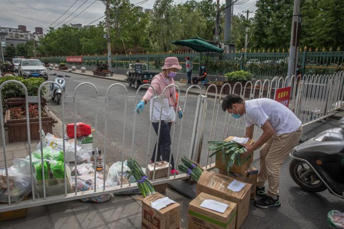 """【碧晨】_外媒:北京""""重点防疫""""模式或成为未来疫情应对的风向标"""