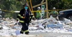 美国缅因州一建筑发生爆炸 1名消防员遇难