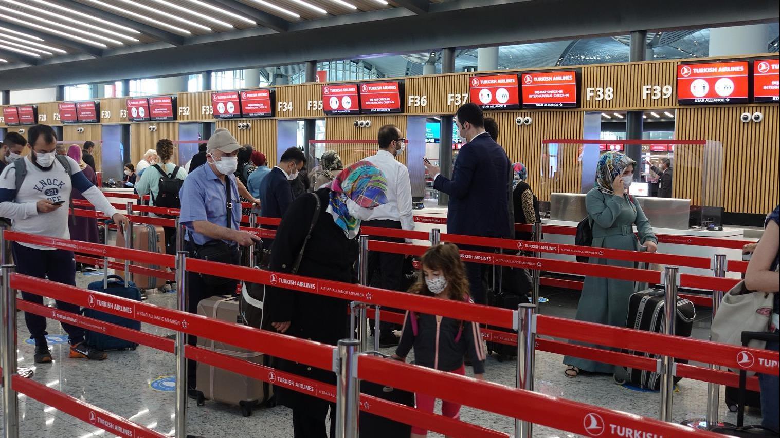 皇冠新现金【网】:同比锐减!《土耳其今年》前八个月航空客运量同比下降62.9% 第1张