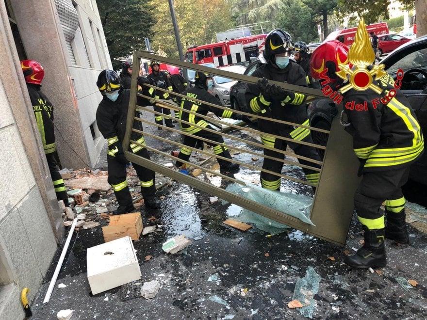 欧博会员开户:意大利米兰居民楼发生爆炸 一人伤势严重 第2张