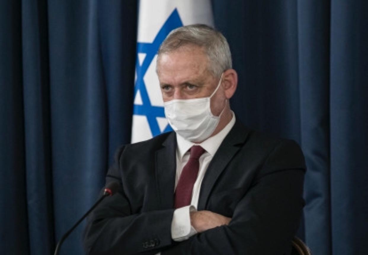 欧博官网手机版:以色列副总理兼国防部长甘茨进入隔离